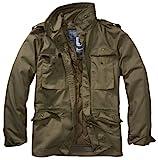 Brandit Chaqueta de invierno M65 estándar Ripstop Army, parka de estilo...