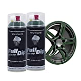 AutoFullCar Full Dip Pack 2 Spray FULLDIP - TiendaFullDip.com (Verde Militar)