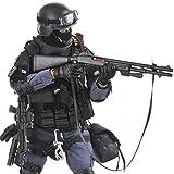 Mecotecn 1/6 Figuras Soldados, 12 SWAT Figura de Acción con Arma, Figuras...