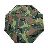 Paraguas Plegable automático, Paraguas, protección UV, portátil, para niños,...