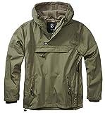 Brandit Deluxe Windbreaker – Chaqueta de invierno para hombre, chaqueta...