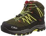 CMP Rigel Mid, Zapatos de High Rise Senderismo Unisex Niños, Verde...