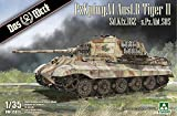 Das Werk DW35013 35013 1/35 Tiger II sPzAbr 505 con Zimmerit (sin Interior).
