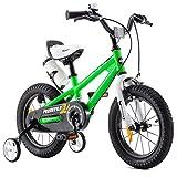 RoyalBaby Bicicletas Infantiles niña niño Freestyle BMX Ruedas auxiliares...