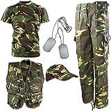 Kombat UK niños Kit del ejército DPM Camuflaje Explorer, Infantil, Color...
