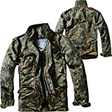 Brandit M65 Standard Jacke Anorak, Mehrfarbig (Flecktarn 14), XXXXXX-Large para...