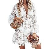 Vestido de Playa Mujer Pareos y Camisola Sexy Hueco Bikini Cover up Suelto de...