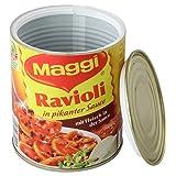 HMF 1722706 Hucha oculta, diseo de lata de 'Maggi Ravioli', 12,0 x 10,0 cm