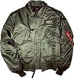 Alpha Industries CWU 45, Verde (Sage-Green 01), M para Hombre