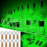 Luces Para Botellas, Ariceleo 10 Piezas 2 Metros 20 LED Cobre Alambre Luces Led...