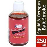 Aditivo para cebo de pesca de 250 ml para calamar y pulpo, color rojo nublado,...