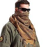 FREE SOLDIER Bufanda Militar Shemagh Tactical Desert Keffiyeh Bufanda de Cuello...