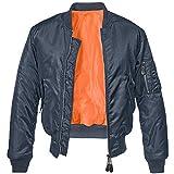 Brandit Ma1 Jacke Chaqueta, Azul Marino, S para Hombre