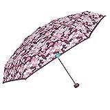 Paraguas Mujer Plegable Súper Extra Mini con Camuflaje Militar Coloreado -...