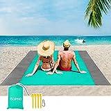 ISOPHO Alfombra de Playa Esterilla Playa, Manta Picnic Impermeable Manta de...