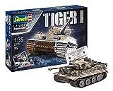 Revell-75 Years Tiger I Maqueta Tanque de Guerra, 14+ Años, Multicolor, 24,10...