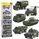 Dreamon Vehículo Militar Mini Modelo Construcción Vehículo de Juguete para...