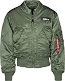 Alpha Industries CWU 45, Verde (Sage-Green 01), XL para Hombre
