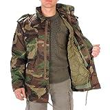 USA chaqueta de campo M65 con Forro, woodland - bosque, XXL