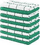 Utopia Towels - 12 Toallas de Cocina, paños de Cocina (38 x 64 cm) (Verde y...