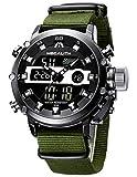 MEGALITH Relojes Hombre Digitales Militar Relojes Grandes LED Reloj de Pulsera...