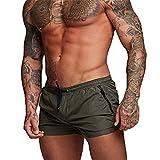 EDOTON Bañador para Hombre, Pantalones Cortos Impermeables Pantalones Cortos de...