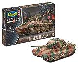 Revell- Tiger II Ausf. B (Henschel Turr) Maqueta Tanque de Guerra, 12+ Años,...