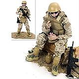 CHTH Figura de acción a Escala 1/6, Juguete de Soldados del ejército, Juego de...