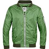Brandit Portland Nylonjacket Chaqueta, Verde (Green 27), L para Hombre