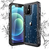 Yokata Funda Impermeable para iPhone 12 (6,1 Pulgadas) Carcasa IP68 Certificado...