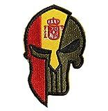 Ohrong España bandera nacional Espana parche bordado espartano táctico moral...
