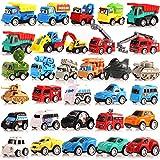 Coche de juguete para niños de 1, 2, 3 años, vehículos de construcción...