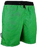 GUGGEN Banador de Natacion para Hombre Traje de Bano Color Verde XXL