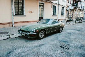 coche verde militar