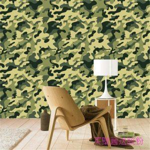 mural verde militar