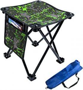 silla de camping camo Ocio en familia al aire libre