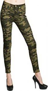 pantalón mujer camuflaje militar