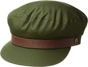 gorra verde militar mujer