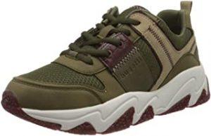 zapatillas verde militar mujer