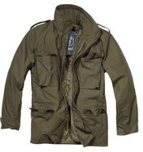 chaqueta verde militar m65 brandit