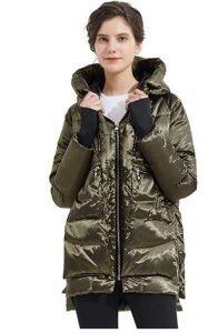 abrigo plumón mujer
