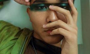 hombre informal combinar verde