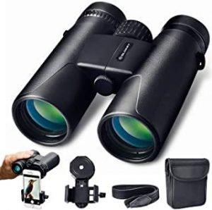 prismáticos  para observar aves en senderismo