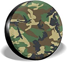 Cubierta de llanta verde militar