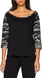 camiseta negra y canmuflaje Camisetas y camisas militares comprar