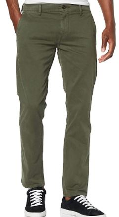 pantalones hombre en color verde