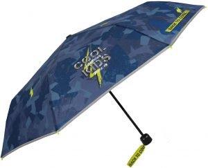 paraguas niño camuflaje verde militar
