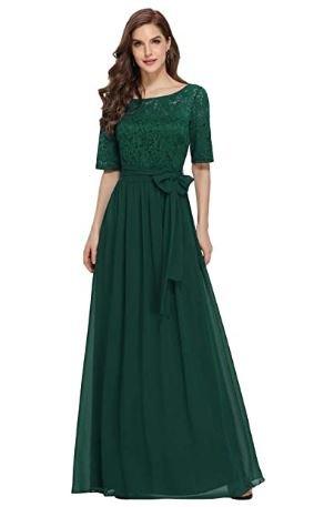 vestido verde militar casual