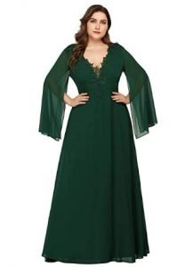 vestidos de novia color verde mujer
