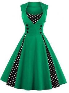 vestidos verdes talla grande